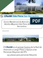 Centro Residencial de Atención Adultos Mayores