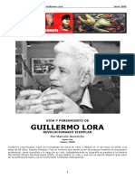 4- Vida y Pensamiento de Guillermo Lora Revolucionario Ejemplar