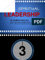 A Sodiq-Spiritual Leadership