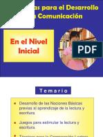 Comunic.Nivel Inicial