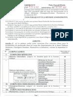 Sante Publique (Medecins, Chirurgiens-Dentistes, Pharmaciens Et Infirmiers) 2017