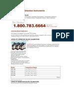 Temperature Calibration Instruments