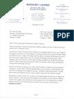 Ald. Laurino Letter to Chicago Board of Education regarding Palmer School