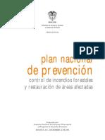 Plan Prevencion Incendios