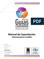 Manual de Capacitacion Extensionismo Juridico
