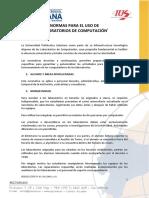 Normas para el uso de laboratorios.pdf