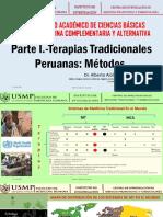 Clase 3 - CMAC - Parte I-Terapias Tradicionales Peruanas Métodos 2017-II
