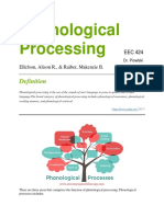 phonological   processing     disorder