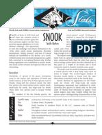 Sea Stats - Snook