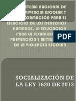 Sistema Nacional de Convivencia Escolar y Formación