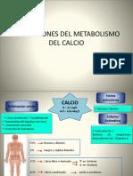 Alteraciones Del Metabolismo Del Calcio 1