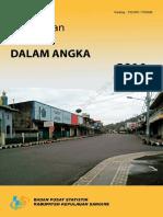 Kecamatan Tahuna Dalam Angka 2016