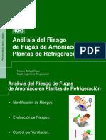 riesgo en fugas de amoniaco en plantas de refrigeración.ppt
