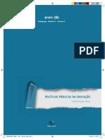 PEDAGOGI MOD 5 VOL 6 Politicas Publicas Da Educacao