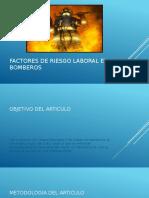Factores de Riesgo Laboral en Bomberos