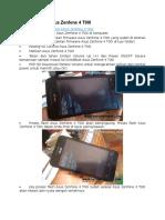 Cara Flashing Asus Zenfone 4 T00I