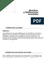 Muestreo y distribucion muestral