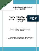 Plan Estrategico de Desarrollo Comuna 10