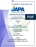 Tarea 2 Derecho Penal I 16-09-2017