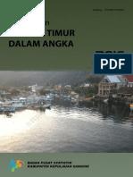 Kecamatan Tahuna Timur Dalam Angka 2016