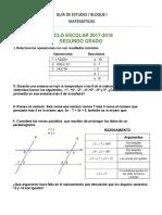 Guia Segundo Matematicas