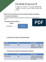 Unidad II Diseño de Algoritmos Guia4 Eje9