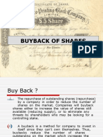 Buy Back of Shares PPT