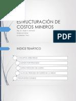 Ponencia de Costos Unt 2015