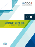 Report Universality and the SDGs