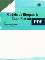 Modelo de Bloques & Cono Flotante