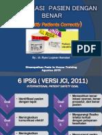 Identifikasi Pasien Rspc(1)