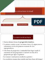 1 La Estructura Textual