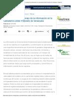 Uso de Registros y Manejo de La Información en La Ganadería Doble Propósito de Venezuela - Engormix