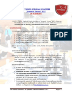 VII Torneo Regional de Ajedrez Amancio Varona 2017