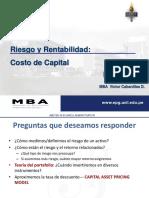 Unidad 5 - Riesgo y Rentabilidad - Costo de Capital (1).pptx