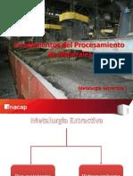 PPT 1 Fundamentos Procesamiento de Minerales