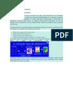 GERENCIA de PROYECTOS Formulacion de Proyectos Unidad 1.2