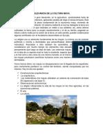 Relevancia de La Cultura Maya