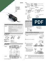 Manual Cz v20 Man Amplificador de sensor de color