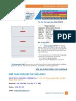 Tủ File Tài Liệu Hòa Phát Tu3fd