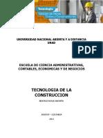 Tecnología de La Construcción - UNAD