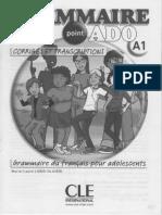Corriges Et Transcriptions - Grammaire Ado A1