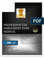 p Tax Enrollment User Manual