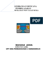 RPP bahasa JaWa KELAS XI