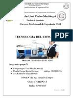 Trabajo Monografico Cementos Del Peru
