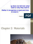 Chapter 2 Materials - Lecture 1