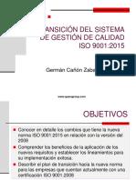 Cartilla Transicion Sistema de Gestión de Calidad Iso 9001-1015 2017-04-26