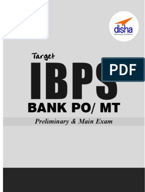 Target IBPS Bank PO MT Preliminary & Main Exams 20 Practice Sets