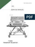 Incubadora de Transporte DAVID TI-2000 Service Manual.pdf