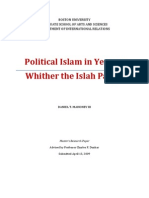 Political Islam in Yemen